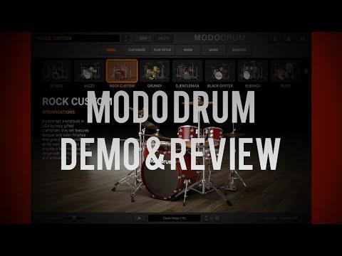 IK Multimedia MODO Drum Demo Review