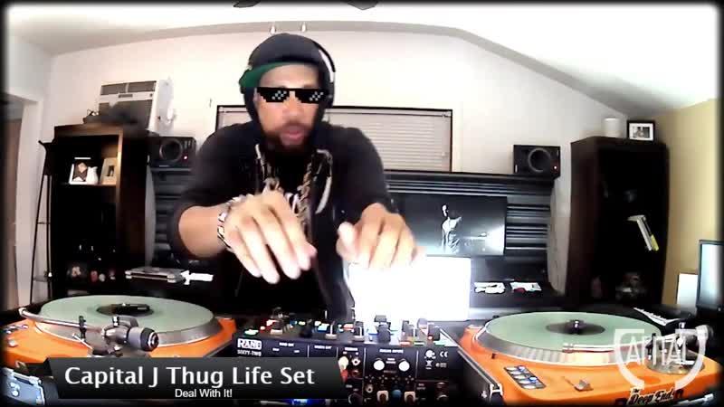CAPITAL J Thug Life Set