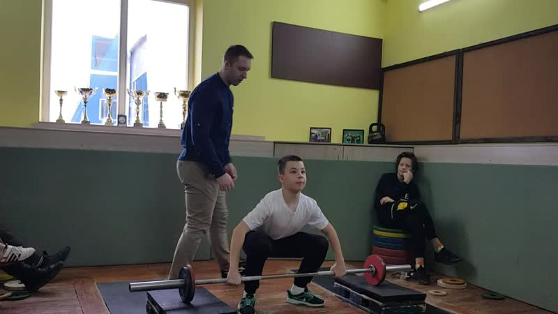 Сидорик Егор рывок 24 кг