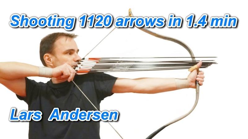 Shooting 1120 arrows in 1 4 min
