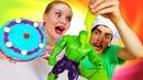 Барби и Халк недовольны! Фокусы в кафе Бонжур. Кормим игрушки СМЕШНОЕ видео для детей