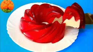 """Торт """"Феерия"""" без выпечки, без духовки. Вкусный десерт с желе. Рецепт. Вкусно - Пальчики оближешь"""