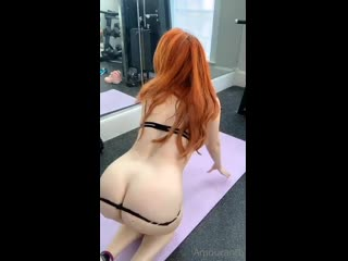 Amouranth Nude Black Thong Teasing Onlyfans Porn Video Leaked