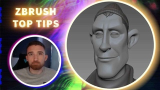 Creating Blendshapes within the ZBrush Layer System - ZBrush Top Tips - Paul Deasy