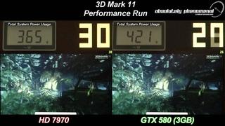 HD 7970 Vs GTX580 3GB in 3D Mark 11 (Round 2)