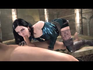 Yennefer witcher 3d game hentai #rule34