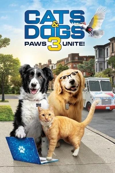 Трейлер третьей части захватывающего триллера «Кошки против собак»