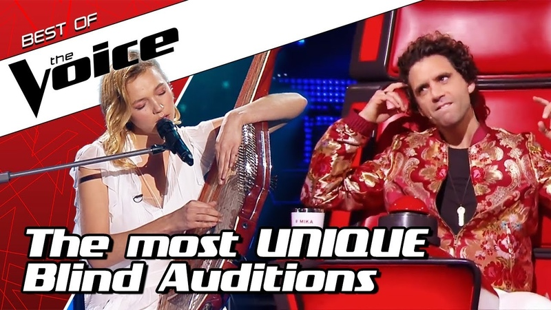 TOP 10 Extraordinarily UNIQUE Blind Auditions in The Voice