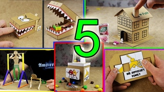 5 Amazing Things You Can Do at Home from Cardboard (mr. hotglue's family)