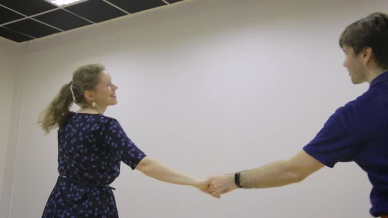 Валентин Экзархо и Ксения Солодова, линди хоп