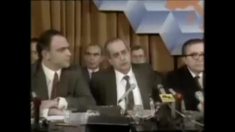 Fernando Morán Manuel Marín - Entrada en la UE 1985