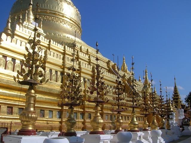 Древний город Баган в Бирме, изображение №5