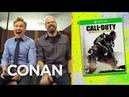 Clueless Gamer: Conan Reviews Call Of Duty: Advanced Warfare - CONAN on TBS