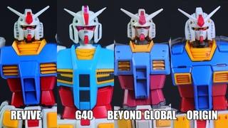WHO'S YOUR GRANDADDY? - HG Gundam Revive, G40, Beyond Global and Origin Mega Review!
