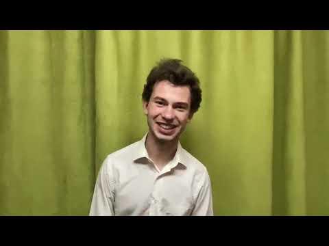 Выборы председателя студенческого совета КУХОМ Кандидат №3 Горшков Владимир