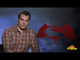 Бэтмен против Супермена - Интервью с Генри Кавиллом