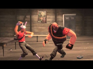 Team Fortress Time With Scout and Heavy
