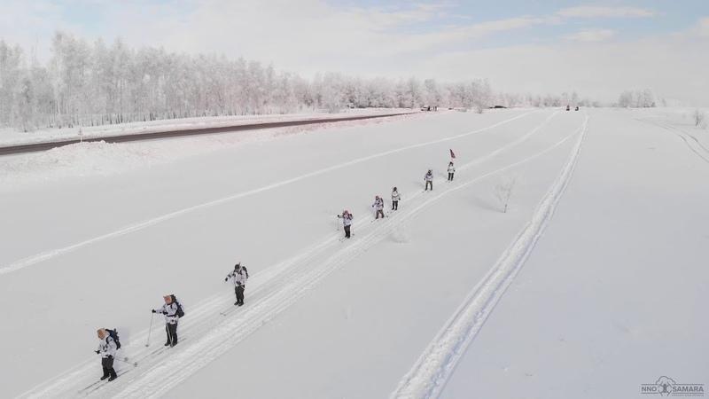Лыжный поход Ил-2 №6049 пос. Глубокий | Сергиевский район | Самарская область
